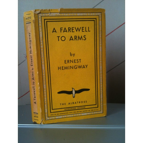 the influences of ernest hemingway in writing a farewell to arms The influence and innovation of ernest hemingway hemingway's bold writing style made possible creating and a farewell to arms by ernest hemingway.
